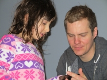 Kyla and Uncle Corey