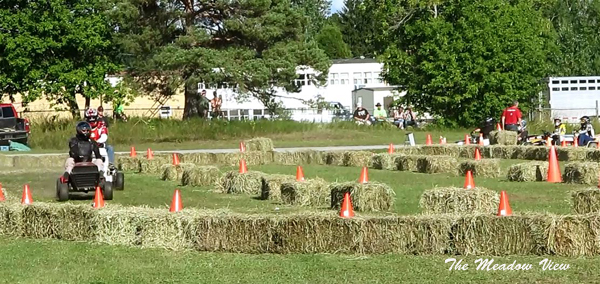 Lawn Tractor Races