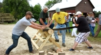 Log Sawing Contest