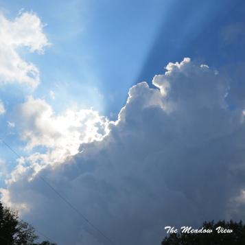 Love summer clouds