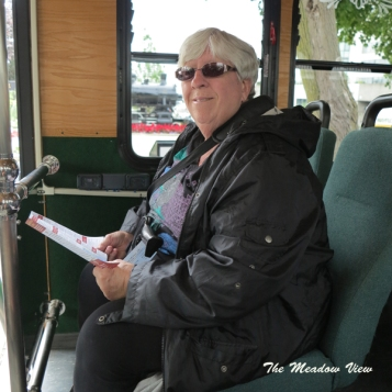 Kingston Trolley Tour Bus