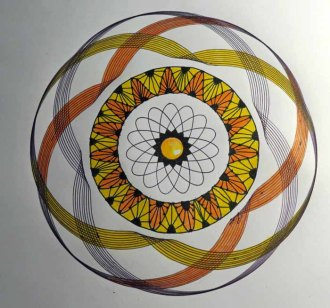 Spirograph and Zendoodling