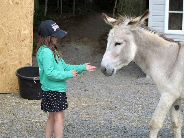 Paco always recognized Kyla - even after she grew up.