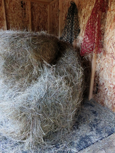 Ahhh... the beginning of a new bale.