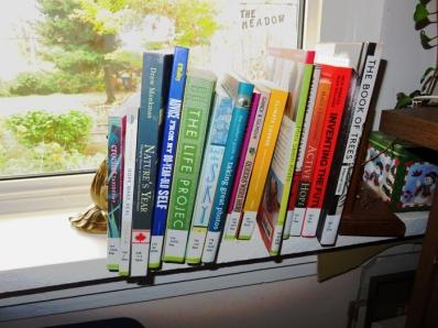 This week's explore shelf.