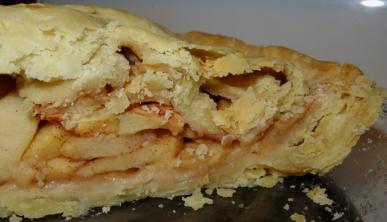 My third homemade apple pie - yum!