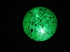 Glow ball ... this has been working away in our front yard for more than 15 years!